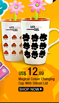 Magical Color Changing Cup With Silicon Lid