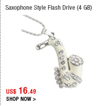 Saxophone Style Flash Drive (4 GB)