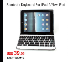 Bluetooth Keyboard For iPad 2/New iPad