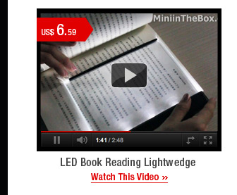 LED Book Reading Lightwedge