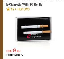 E-Cigarette With 10 Refills