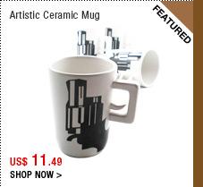 Artistic Ceramic Mug
