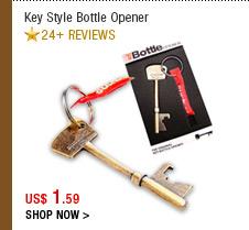 Key Style Bottle Opener
