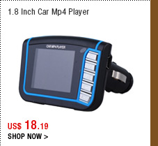 1.8 Inch Car Mp4 Player