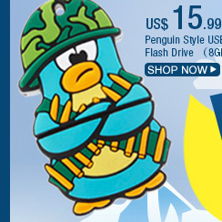 Penguin Style USB Flash Drive (8GB)