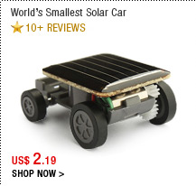 World's Smallest Solar Car