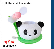 USB Fan And Pen Holder