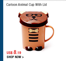 Cartoon Animal Cup With Lid