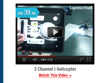 3 Channel i-helicopter