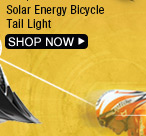 Solar Energy Bicycle Tail Light