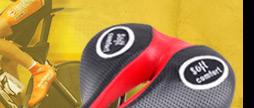 Microfiber Leather Saddle with Titanium Arch