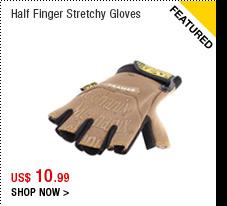Half Finger Stretchy Gloves