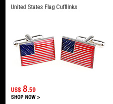 United States Flag Cufflinks