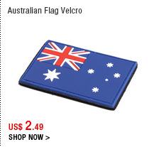 Australian Flag Velcro