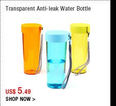 Transparent Anti-leak Water Bottle