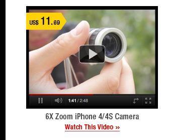 6X Zoom iPhone 4/4S Camera