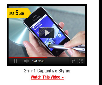 3-in-1 Capacitive Stylus
