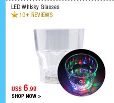 LED Whisky Glasses