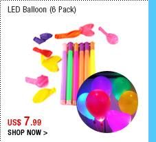 LED Balloon (6 Pack)