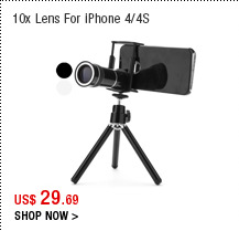 10x Lens For iPhone 4/4S