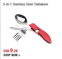 3-in-1 Stainless Steel Tableware