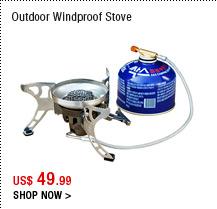 Outdoor Windproof Stove