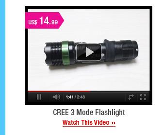CREE 3 Mode Flashlight
