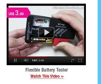 Flexible Battery Tester