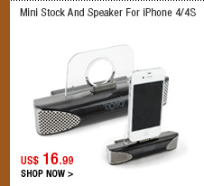 Mini Stock And Speaker For iPhone 4/4S