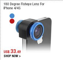 180 Degree Fisheye Lens For iPhone 4/4S