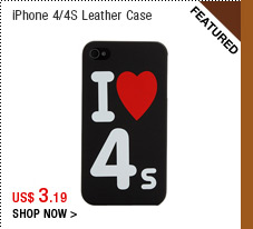 iPhone 4/4S Leather Case