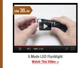 5 Mode LED Flashlight