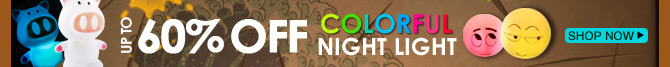 Colorful Night Light Up To 60% OFF
