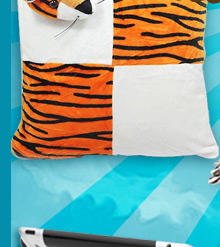 Tiger Style Cushion