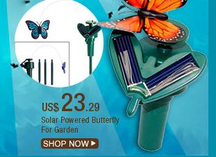 Solar Powered Butterfly For Garden