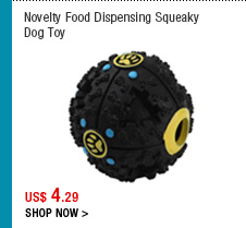 Novelty Food Dispensing Squeaky Dog Toy