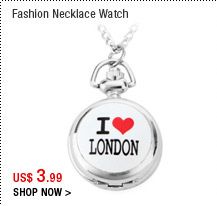 Fashion Necklace Watch