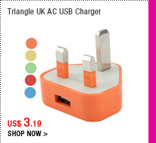 Triangle UK AC USB Charger