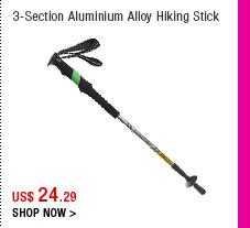 3-Section Aluminium Alloy Hiking Stick