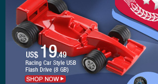 Racing Car Style USB Flash Drive (8 GB)