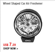 Wheel Shaped Car Air Freshener