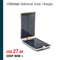 1500mah Universal Solar Charger