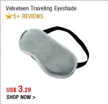 Velveteen Traveling Eyeshade