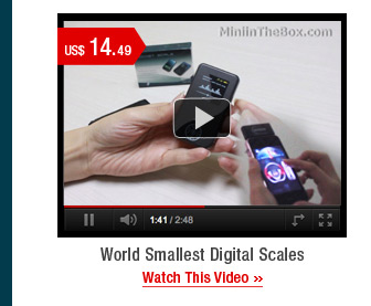 World Smallest Digital Scales