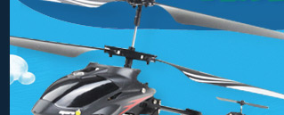i-Cam Helicopter With 0.3 Megapixel Camera