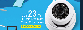 3.6 mm Lens Night Vision CCTV Camera