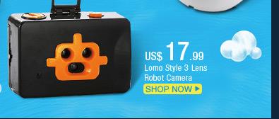 Lomo Style 3 Lens Robot Camera