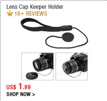 Lens Cap Keeper Holder