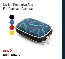 Stylish Protective Bag For Compact Cameras
