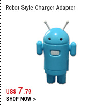 Robot Style Charger Adapter